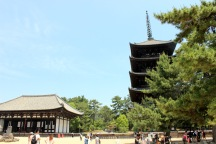 Golden Hall & Pagoda - Kofuku-ji Temple