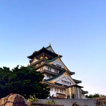 Osaka Castle looking grand