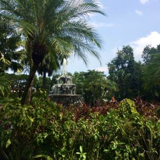 Gardens in Intramuros