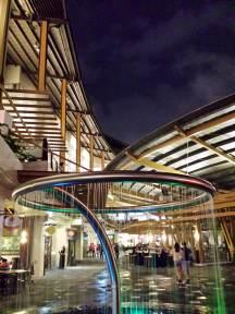 Trendy fountain in Makati