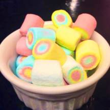 Happy marshmallows at NUVO!