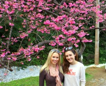 Jess & I on Mt. Yaedake