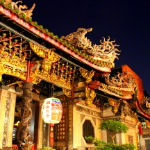 Longshan Temple, built in 1738