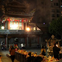 Courtyard area of Longshan Temple