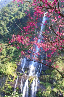 Ulay Waterfall in Wulai Village