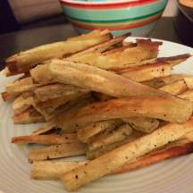 Sweet potato fries, yum