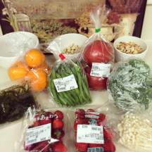 Why my grocery shopping looks like these days... meat-free!