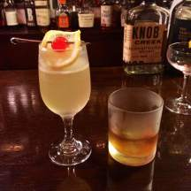 Whisky bar in Ginza: his & hers