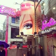 Barbie store in Harajuku