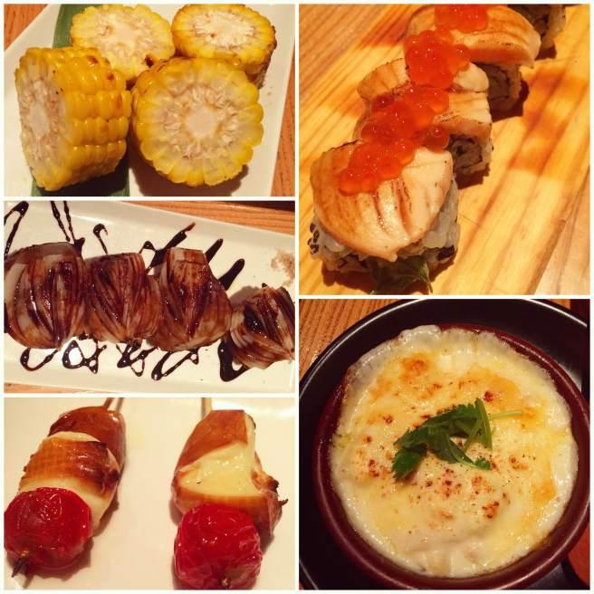 Food porn at Arata in Roppongi Hills