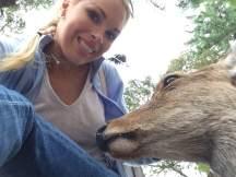 Bambi selfie!