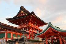 Shinto shrines at Fushimi Inari