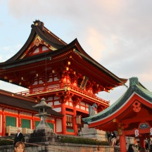 Shinto shrines at Fushimi Inari