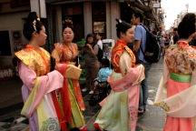 Traditional garb in Nara