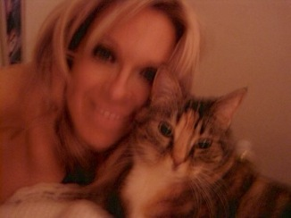 Welcoming 2010 with my BFF. She's there waiting for me, after every late night party.