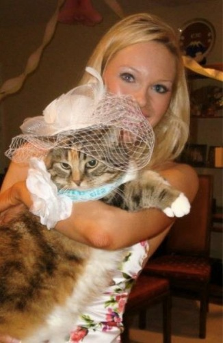 Annie was VIP at my bridal shower