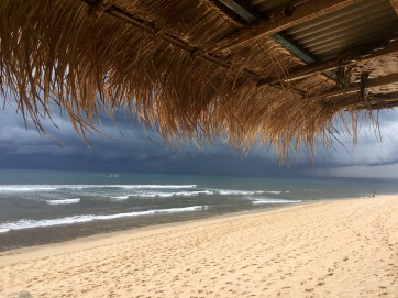 Storm brewing at Balangan Beach