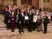 My Global Advocacy class with MP James Cleverly at the Houses of Parliament