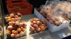 Impulse buy: succulent peaches at Wanaka