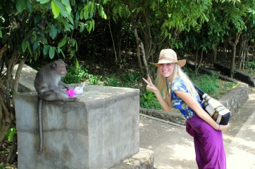 Chuck wouldn't let me get any closer to the kepto-monkeys