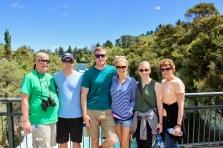 Christmas Day at Huka Falls
