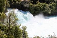 The name Huka is the Maori word for 'foam'. Makes perfect sense here