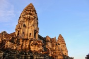 Angkor Wat bathed in morning light