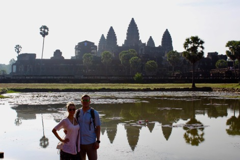 Reflections at Angkor Wat