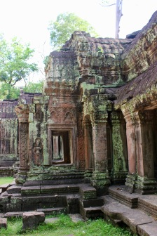 Ta Prohm, the temple featured in Tomb Raider
