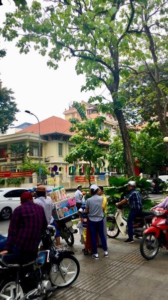 Cute bustling corner of Ho Chi Minh