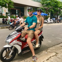 Moped to Marble Mountains!