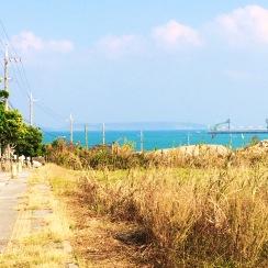 Approaching the Tombs at Uken Beach